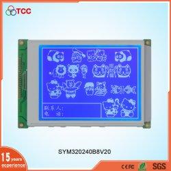 20 speld 5.7 LCD van de Wijze van de Vertoning van de Duim 320X240/320*240/320240 de Grafische Blauwe/Grijze/Zwarte Module van de Vertoning