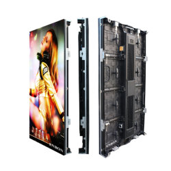 P4.8 flexível LED interior a Tela 500*1000mm Painéis Vídeo (P5).