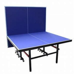 Tavolo da tennis interno pieghevole con spessore HDF, tavolo da gioco Ping Pong per attività ricreative
