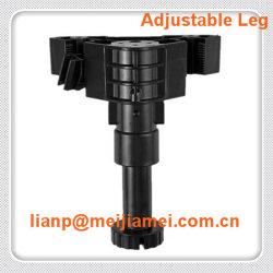 黒いカラーサイズ調節可能なフィートを折るABS材料: 95-175mm