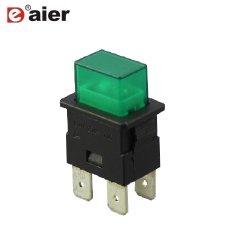 16A on-off 4 Контакт светится кнопка со 220V лампы