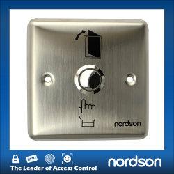 ステンレススチール出口冷蔵庫自動ドアスイッチ(夜間照明付き