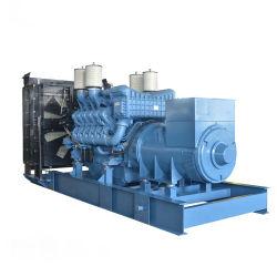 مولد الديزل ثلاثي الأطوار 400 فولت/230 فولت MTU 1000كيلوفولت أمبير/800 كيلو واط