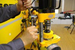 Scherpe Machine van de Zaag van het Gat van de Pijp van Hongli de Elektrische tot 114mm (JK114)