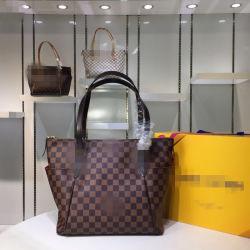 Les femmes en cuir véritable de l'épaule de luxe sac à main de la L-V Pattern femmes Sacs à main