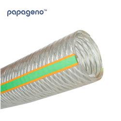 6 Zoll-gewundener Draht-transparente Vakuumrohrleitung