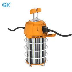 건설용 조명 5000K LED 임시 작업등 후크 UL 인증 휴대용 연결