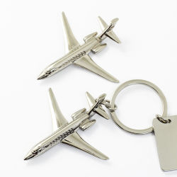Lâmpada da Luz de baixo preço de venda por grosso de metais personalizados de forma a cadeia de chave 3D