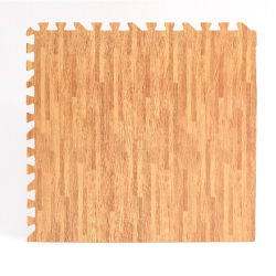 Натурального дерева в Корк и блокировка головоломки из пеноматериала коврик для украшения