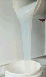 Silicone Tratado de platina para produtos palmilha de silicone (RTV1010L)