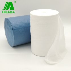 Medical Super Jumbo de rollo de gasa de algodón absorbente