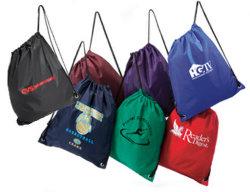 Coulisse cadeau promotionnel sac à dos de l'emballage commercial