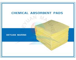 Feuilles absorbantes d'huile chimique de polymères super absorbants d'huile de feuille d'eau