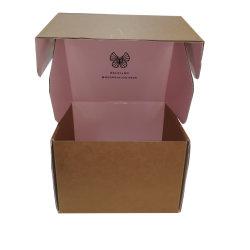 習慣によって印刷される波形の郵便利用者ボックス波形ボックス実物大模型