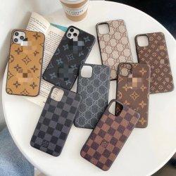 Casse di lusso del telefono mobile del progettista di marca per il coperchio del telefono delle cellule di modo di iPhone 12
