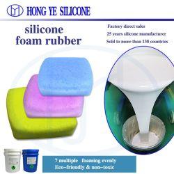 2020 подачи жидкого пенообразующего закрытые ячейки силиконового каучука бесплатные образцы