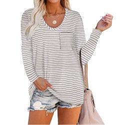 قميص الجولف العادي قميص النساء قميص قميص قصير الرقبة قميصًا طويل قميص للنساء
