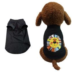 Nuevo estilo de perro de algodón impresos T-Shirt dueño de la Mascota ropa