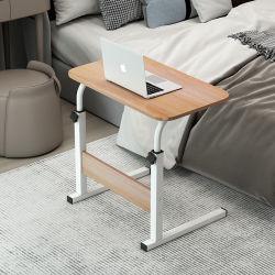 침대 옆 테이블 휴대용 기본형 책상 침실 홈 학생 데스크 쉽습니다 기숙사 Lazy 컴퓨터 데스크를 들어보세요