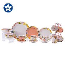 Dernière conception de la Porcelaine Tablewares nouveaux ensembles de dîner de la vaisselle en céramique