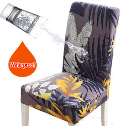 Рестораны напечатано стул крышку водонепроницаемый универсальный мягкий пятно устойчив
