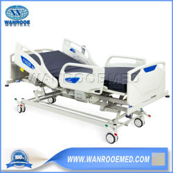 Bae503 5-Función ABS eléctrico ajustable Hospital Clinic el tratamiento del paciente el tratamiento médico de cuidados de enfermería de la ICU cama