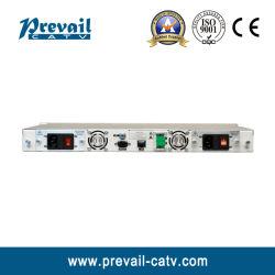 1550 нм внешний оптический передатчик кабельного телевидения модуляции с двумя блоками питания