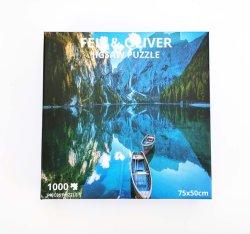 Venta caliente 1000 Puzzle personalizado de alta calidad Puzzle 1000 piezas rompecabezas para los adultos