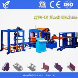 Qt4-15 전공 자동 콘크리트 시멘트 벽체 제작 기계 유압 고속 및 고품질 블록 장비