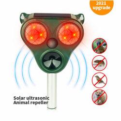 솔라 리펠러 곤충 개 고양이 쥐 모스키토 새 전자 Ultrasonic Repeller Killer Control Ultrasonic Animal Pest Repeller with Motion(초음파 젤-페스트-모션)입니다 센서