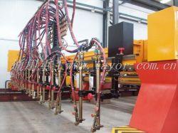 Hのビームマルチヘッドストリップのフレーム切断機械、ガス切断機械、Oxy燃料の打抜き機