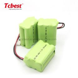 Batteria diretta in fabbrica NiMH AAA CE certificati RoHS SGS alti Batteria da 7,2 V per utensili elettrici elettronici e Bike Batteria scarica automatica in esaurimento