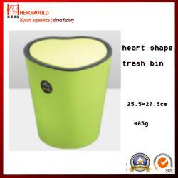 Forme de coeur des ménages en plastique avec couvercle Corbeille 2ème de seconde main Heromold utilisé moule à partir de