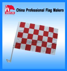 De Vlag van de raceauto