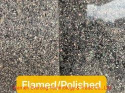 Paving Stone/Cube la pierre naturelle Pierre Split flammé Rock porphyre rouge/vert/projet Porphyre pour l'extérieur