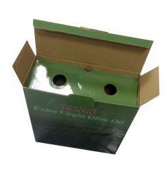 Aceptar el papel de impresión tamaño personalizado y paquete de la caja de Aceite de Oliva