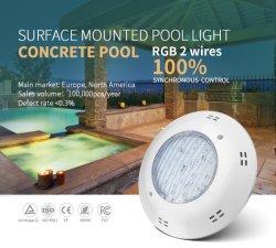 IP68 25W RGB Afstandsbed. Voor opbouwmontage onder water LED-zwembad Licht