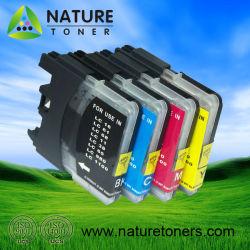 LC11/LC16/LC38/LC61/LC65/LC67/LC980/LC1100 Cartucho de tinta compatíveis para Impressoras Brother