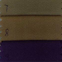 Diseño de stock de productos textiles de algodón teñido de espina de pez tejido tejido de prendas de vestir
