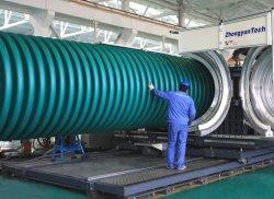 خط بروز/بروز الأنابيب المضلعة الكبيرة/الأكبر بقطر مزدوج الصينية الماكينة/ماكينة صناعة الماكينات