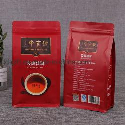 Impresso personalizado à prova de umidade Super Verdes alimentos naturais em pó embalagem stand up pouch Ziplock