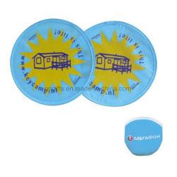 Frisbee pliable de Lgo estampé par coutume chaude de vente en gros de vente