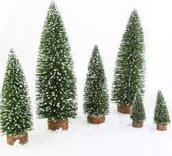 Mini decorazione e artigianato dell'albero di Natale OEM per regalo promozionale