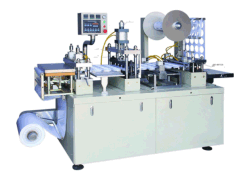 コーヒー紙コップのための機械を作るプラスチックふた