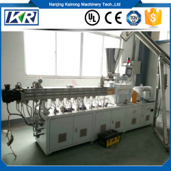 Plastic Afvalmateriaal Recycling Granulator Productielijn/Pet Fiber Plastic Granuleermachine/Polyester Garens Recycling Machine