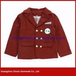 De style européen uniforme scolaire d'hiver de l'école Kingdergarten Blazer manteau pour étudiants (U115)