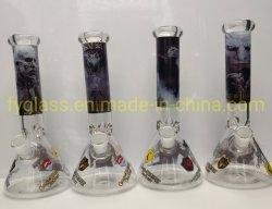 10pouces pipe à eau du tuyau de fumer en verre avec des jeux de droits