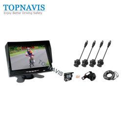 7 pouces de la vidéo numérique par ultrasons des capteurs de stationnement pour le camion