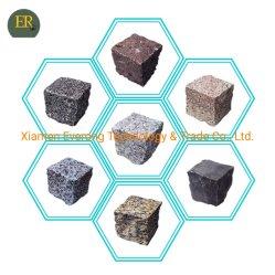 Natuurlijk Graniet/Marmer/Kalksteen/Basalt/Getuimelde/Grijze/Zwarte/Gele Cobble/van de Kubus/van de Betonmolen/van de Bestrating/van de Vloer Straatsteen voor Oprijlaan/Landschap/Tuin