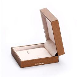 独特な注文のハンドメイドのカフリンクスタイクリップの宝石類のギフトの包装箱